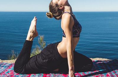 Italienisch und Yoga